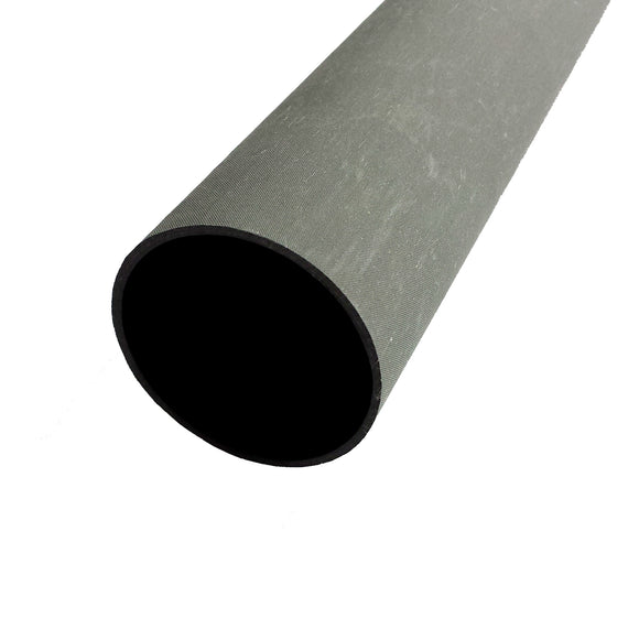 Round Carbon Tubing - Uni Dull Peel Ply Finish - 7.26in ID
