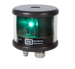 Peters Bey LED Starboard Navigation Light - Black