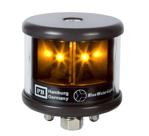 Peters Bey LED All Around Yellow Navigation Light - Black