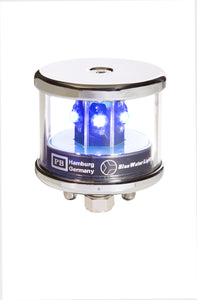 Peters Bey LED All Around Blue Navigation Light - Silver