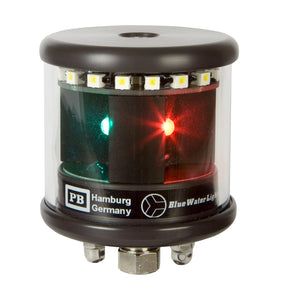 Peters Bey LED Tricolor/Anchor Navigation Light - Black
