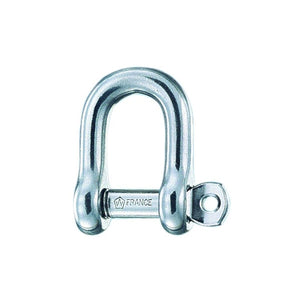 Wichard Stainless D-Shackle 8mm - 5/16in