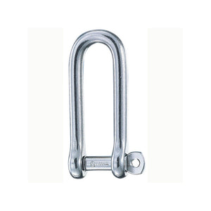Wichard Stainless Captive Pin Long D-Shackle 5mm - 3/16in