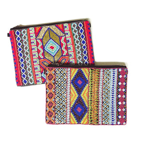 Beaded Statement Clutch