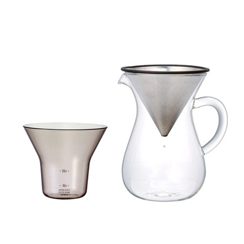 Slow Coffee Style, Coffee Carafe Set 300ml, KINTO-VONMEL Luxe Gifts