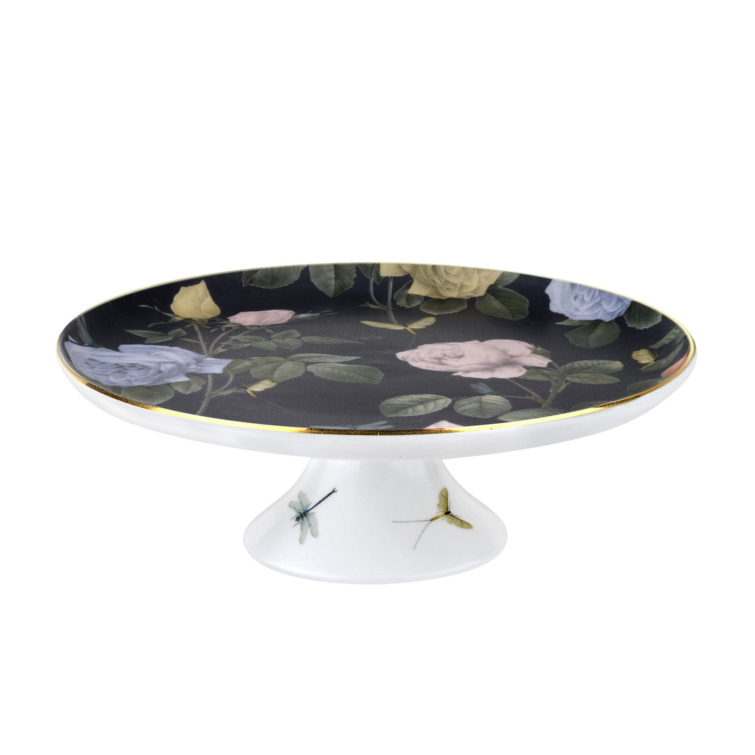 Rosie Lee - Footed Cake Stand, Black, TED BAKER-VONMEL Luxe Gifts