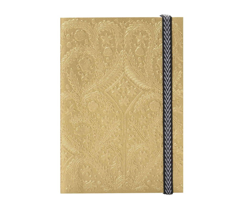 Embossed Paseo Gold, Notebook S, CHRISTIAN LACROIX-VONMEL Luxe Gifts