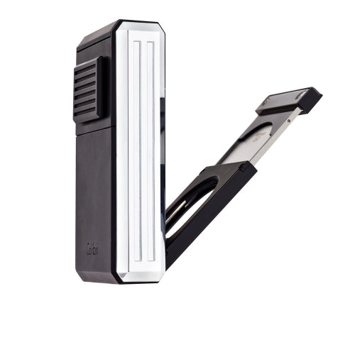 Astoria Triple-Jet Flame, Gunmetal/Chrome, COLIBRI-VONMEL Luxe Gifts