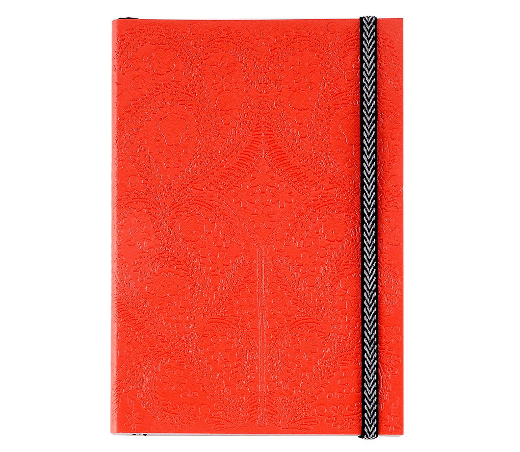 Embossed Paseo Scarlet, Notebook M, CHRISTIAN LACROIX-VONMEL Luxe Gifts