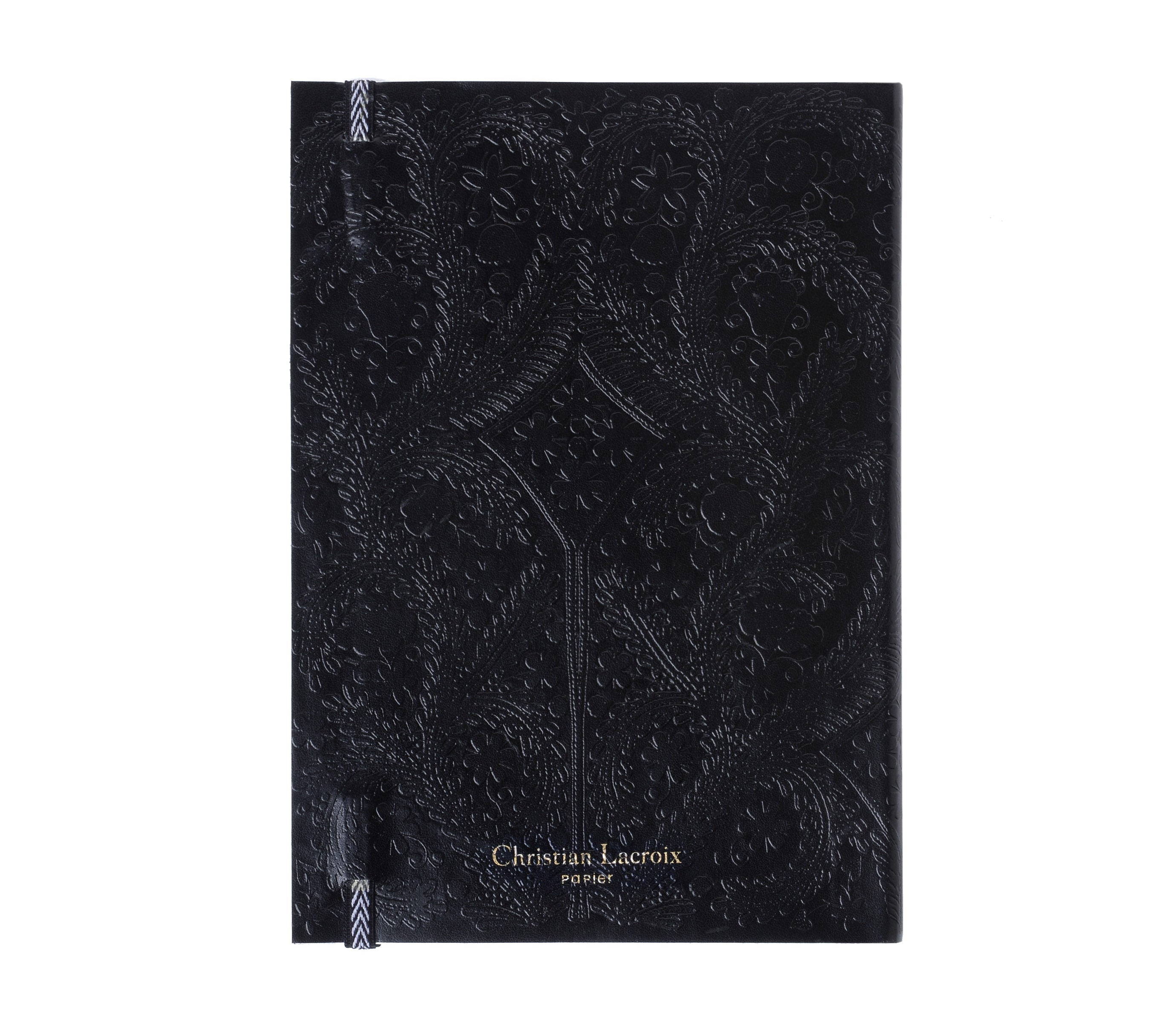 Embossed Paseo Black, Notebook M, CHRISTIAN LACROIX-VONMEL Luxe Gifts