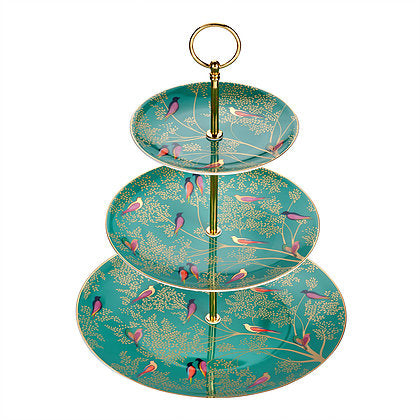 Chelsea Collection, 3 Tier Cake Stand, SARA MILLER LONDON-VONMEL Luxe Gifts