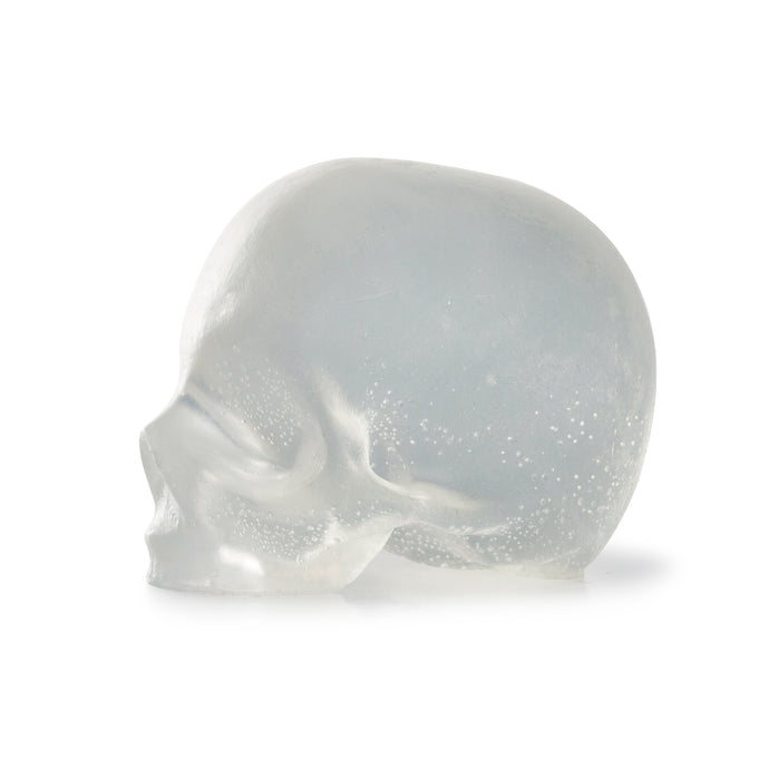 Clear Skulls, 3 Glycerin Soaps, REBELS REFINERY-VONMEL Luxe Gifts