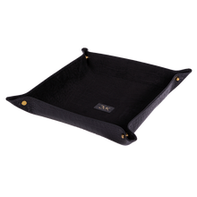 Change Tray, Croco Leather Black/Black, MAISON JMK-VONMEL Luxe Gifts
