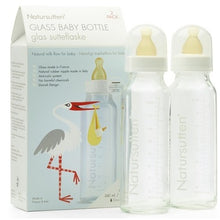 Glass Baby Bottles, Pack of 2, NATURSUTTEN-VONMEL Luxe Gifts