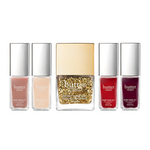 The Gold Standard, Nail Lacquer Set, BUTTER LONDON-VONMEL Luxe Gifts