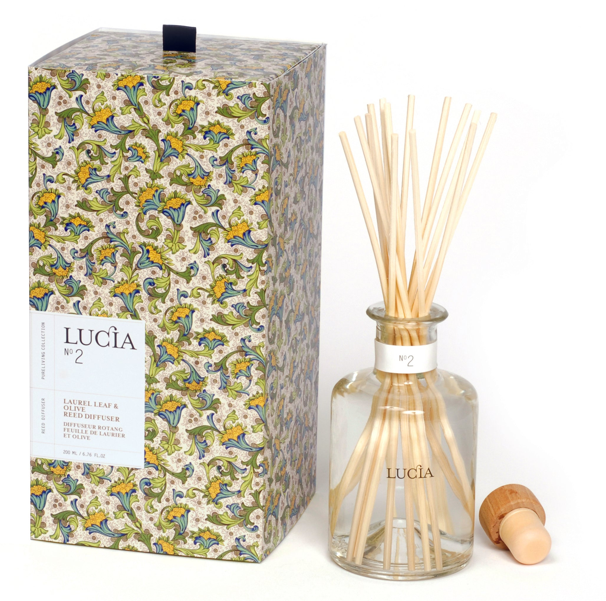 Laurel Leaf & Olive, Diffuser, LUCIA-VONMEL Luxe Gifts