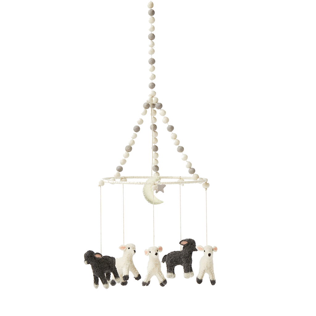 Little Lamb, Mobile, PEHR DESIGNS-VONMEL Luxe Gifts