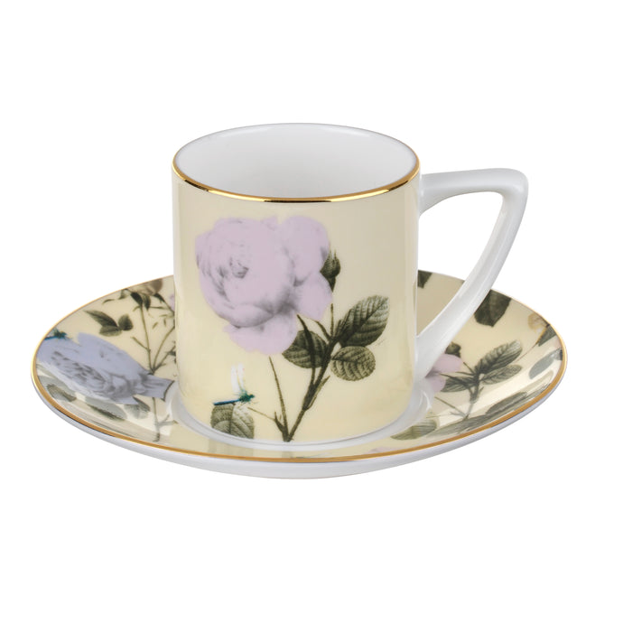 Rosie Lee - Lemon, Espresso Cup & Saucer, TED BAKER-VONMEL Luxe Gifts