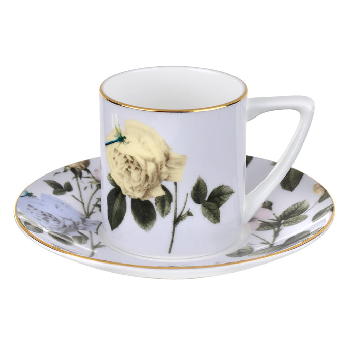 Rosie Lee - Lilac, Espresso Cup & Saucer, TED BAKER-VONMEL Luxe Gifts