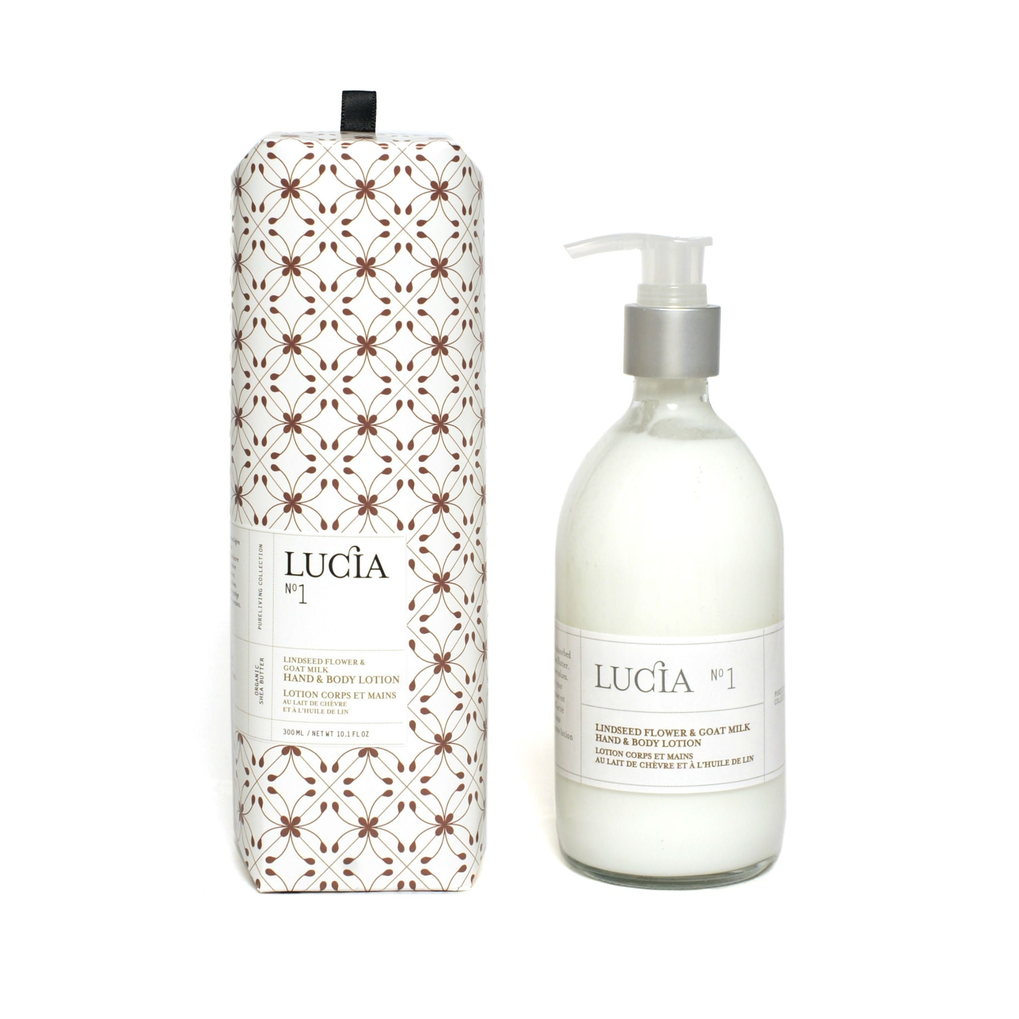 Linseed Flower & Goat Milk, Hand & Body Lotion, LUCIA-VONMEL Luxe Gifts