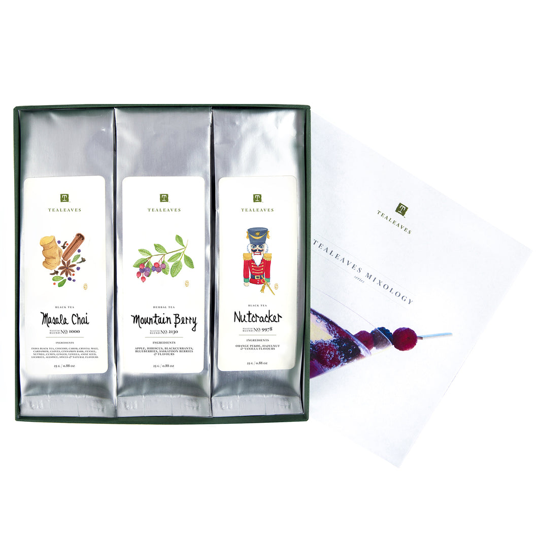 Mixology Series Collection, Assorted Tea Box, TEALEAVES-VONMEL Luxe Gifts