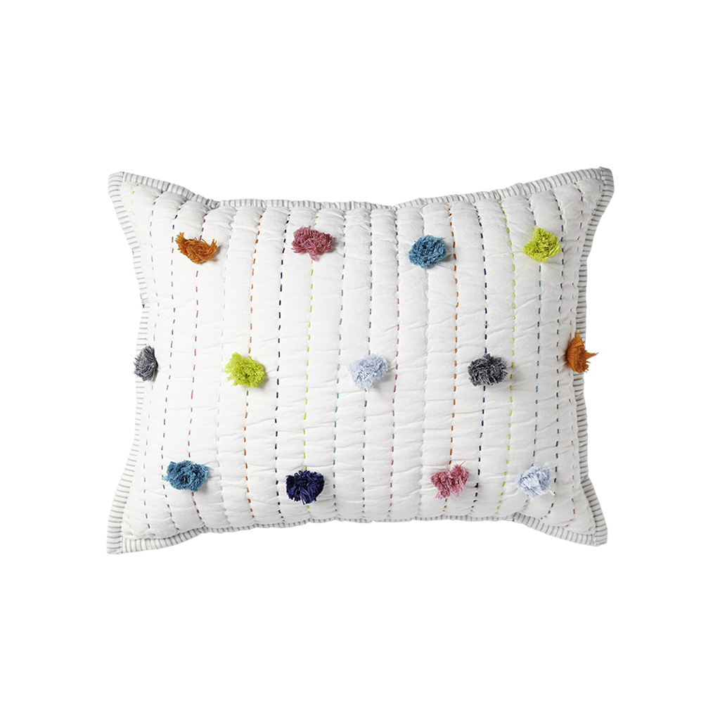 Pom Pom, Pillow, PEHR DESIGNS-VONMEL Luxe Gifts
