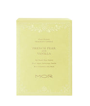 French Pear & Vanilla, Scented Candle, MOR-VONMEL Luxe Gifts