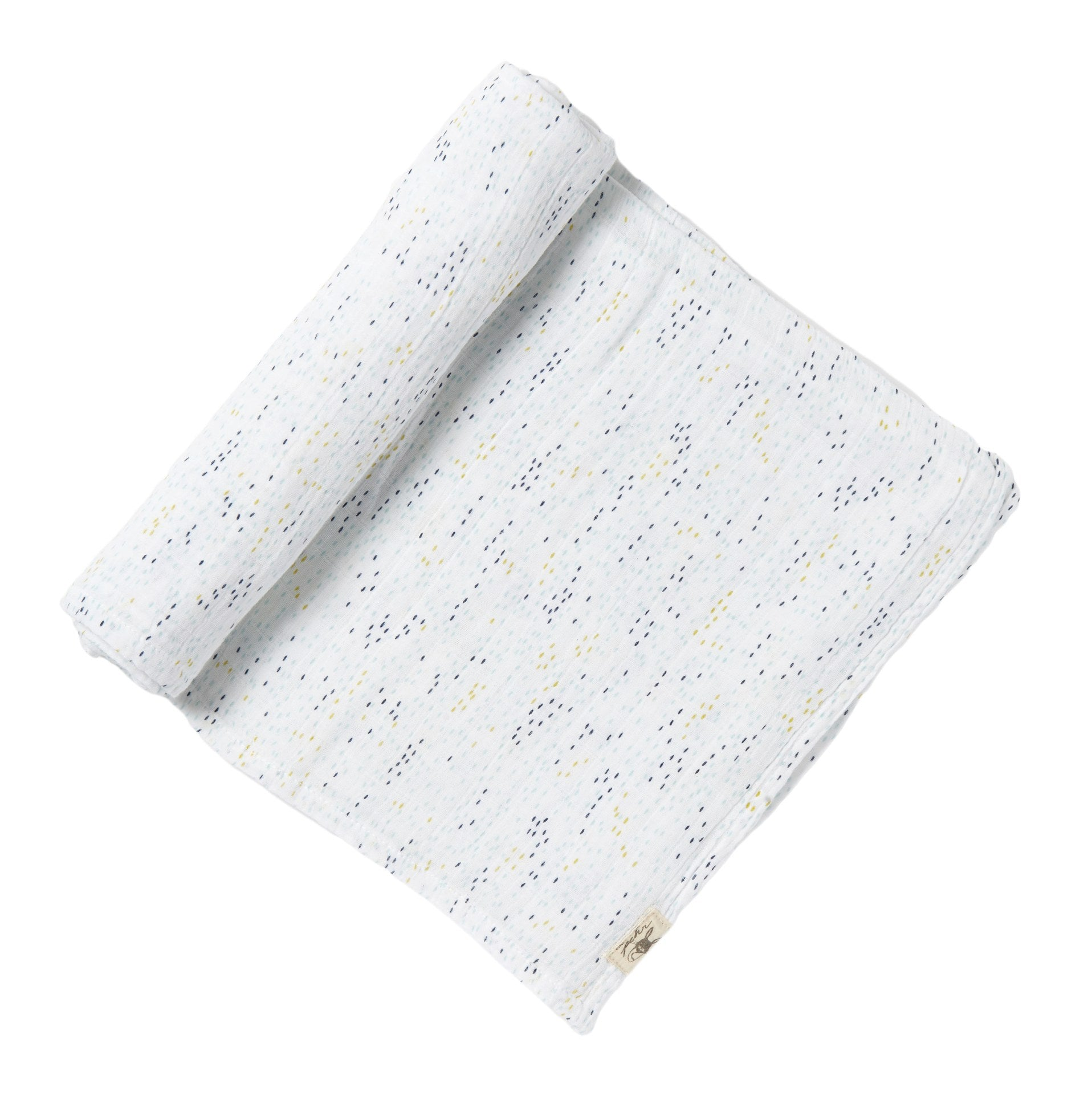 Showers Blue, Swaddle, PEHR DESIGNS-VONMEL Luxe Gifts