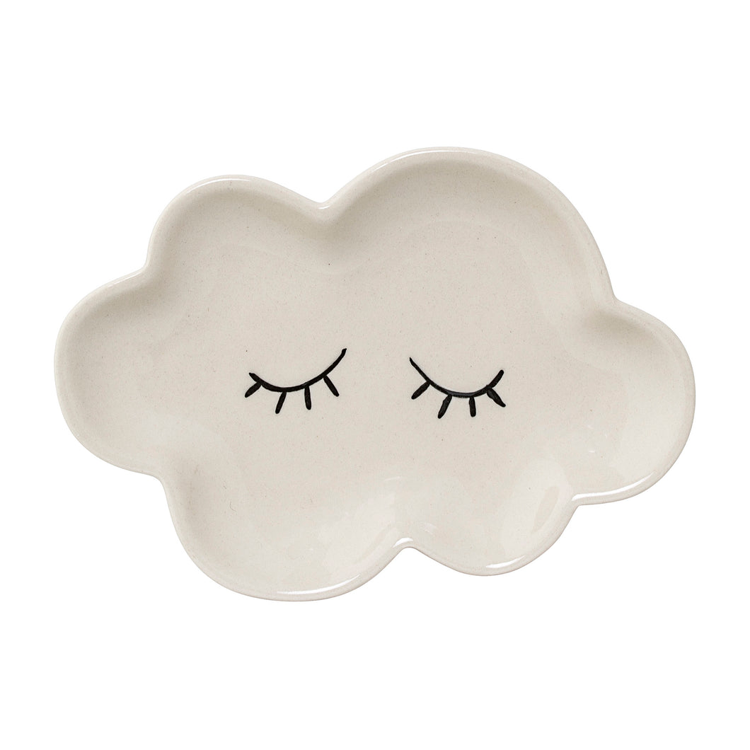 Smilla White, Stoneware Plate, BLOOMINGVILLE-VONMEL Luxe Gifts