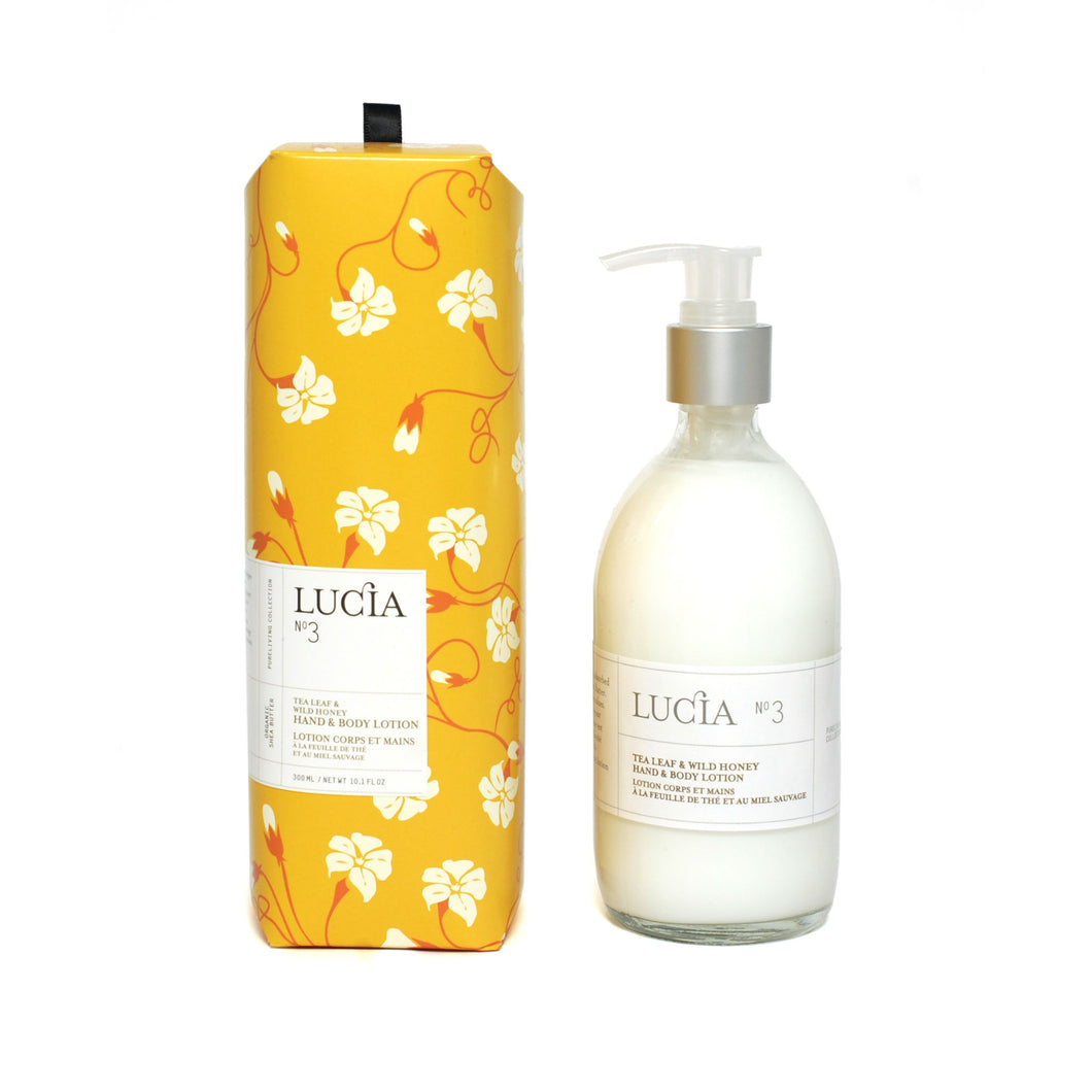 Tea Leaf & Wild Honey, Hand & Body Lotion, LUCIA-VONMEL Luxe Gifts