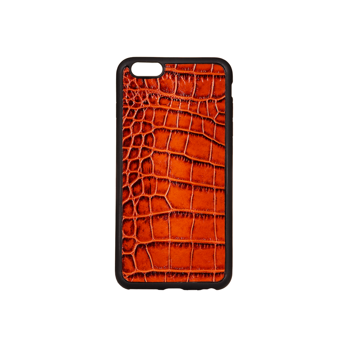 Iphone 6 Plus Case, Tan Croco Leather, MAISON JMK-VONMEL Luxe Gifts