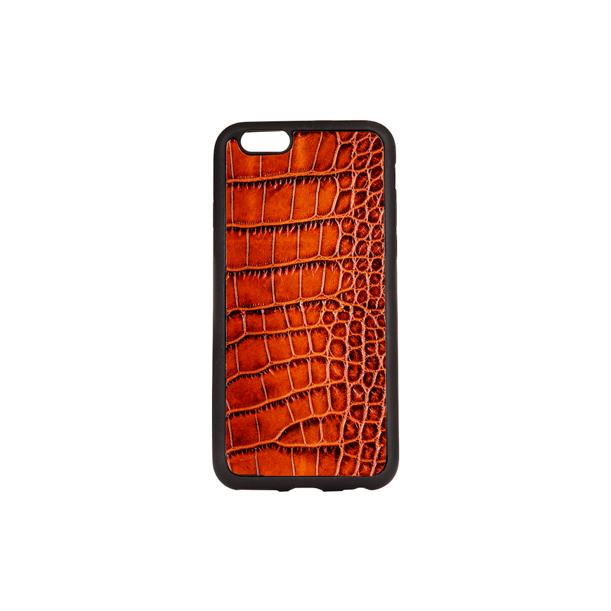 Iphone 6 Case, Tan Croco Leather, MAISON JMK-VONMEL Luxe Gifts
