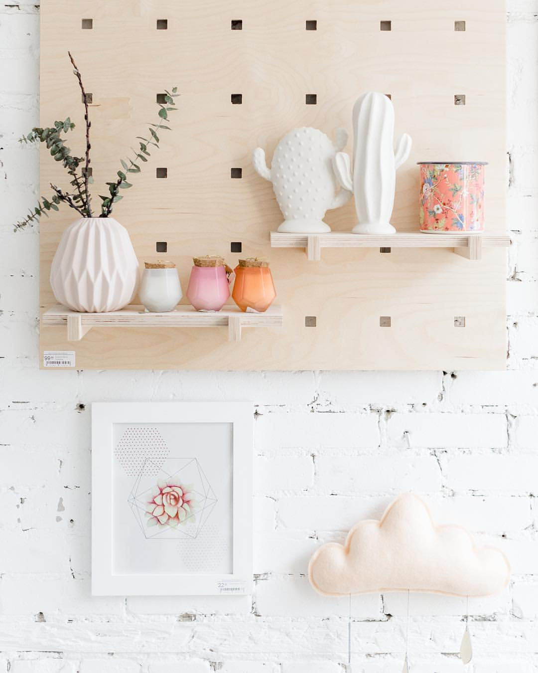 Powder, Wall Decor, THE BUTTER FLYING-VONMEL Luxe Gifts