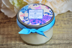 Custom Candle Label Design 8, One Dozen, $4.95 each