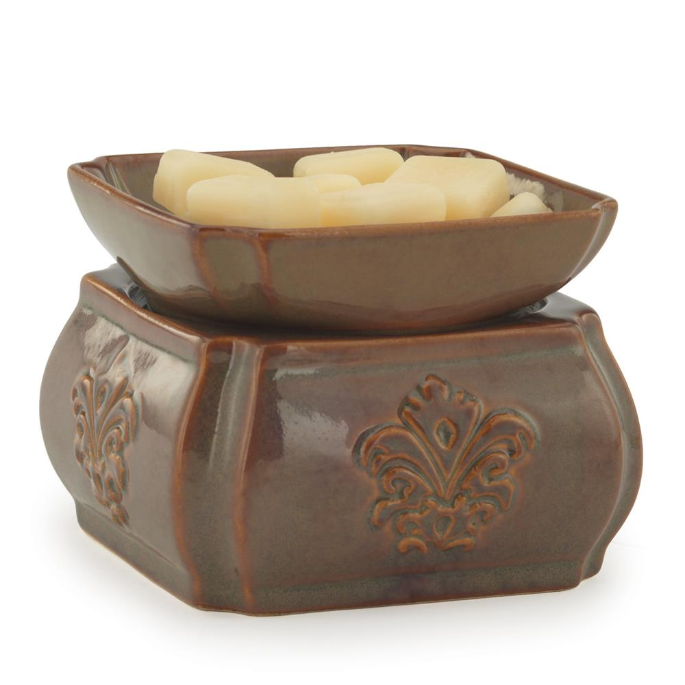 Toffee Damask 2-in-1 Classic Fragrance Warmer