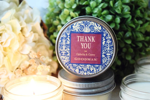 Provencale Design Soy Candle Favor Soy Candle Favor- One Dozen, $4.95 per candle