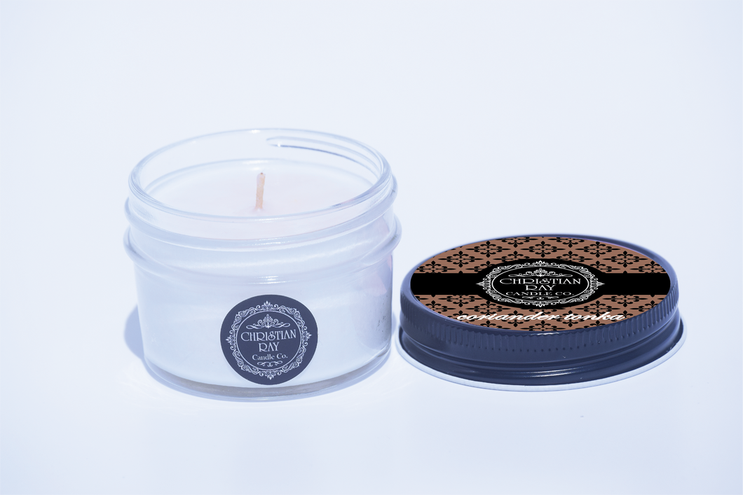 The $5 Soy Candle in Coriander & Tonka