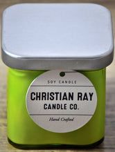 Lime Square Soy Candle