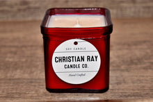 Red Square Soy Candle
