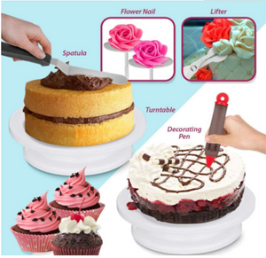 Newest 206 PCS Cake Decorating Baking Set