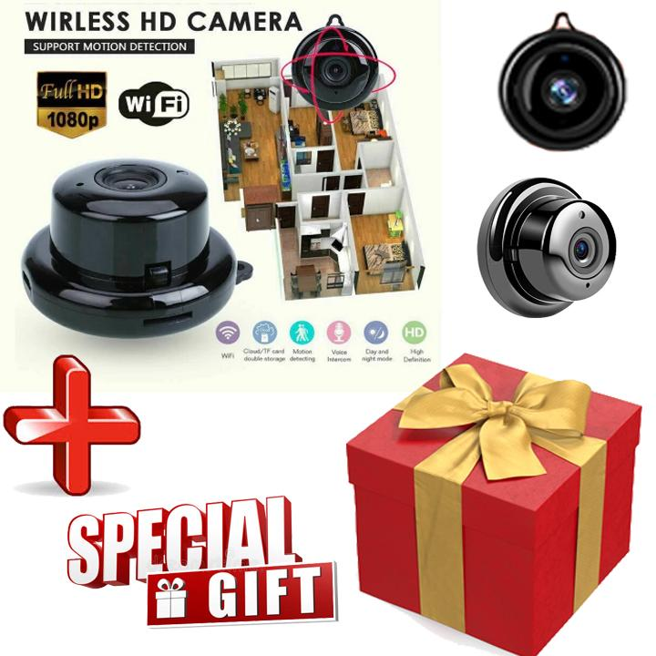 1080P HD Wireless Surveillance Camera Recorder + Free Gift Box