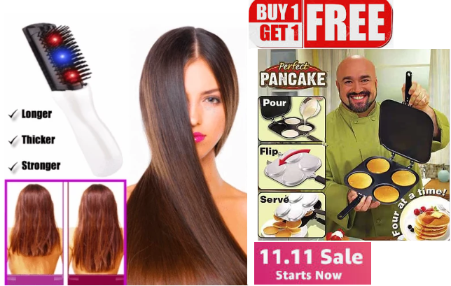 2019 Infrared LASER  HAIR Growth + Free Perfect Pancake Super Sale Today only