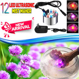 12 Leds Ultrasonic Mist Maker Fogger