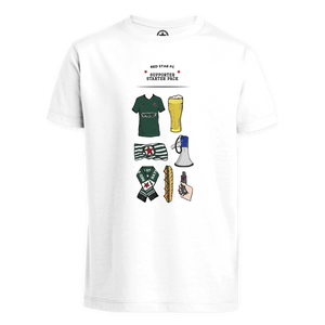 T-Shirt Enfant Supporter Starter Pack capsule thc