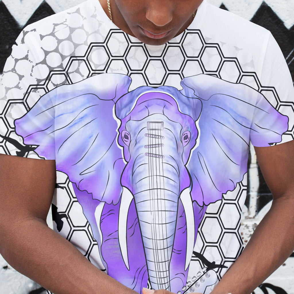 Mens Lightweight Elephant Tee