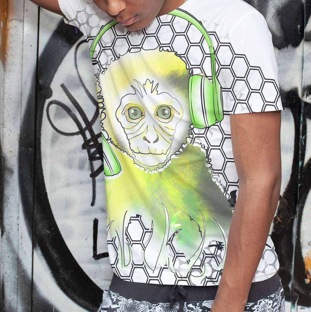 Mens Lightweight Monkey Tee