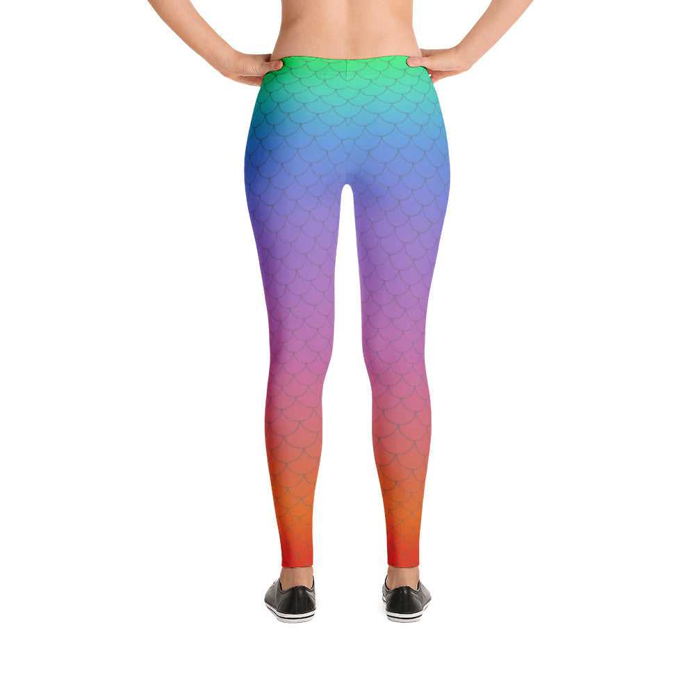 Iris Mermaid Leggings
