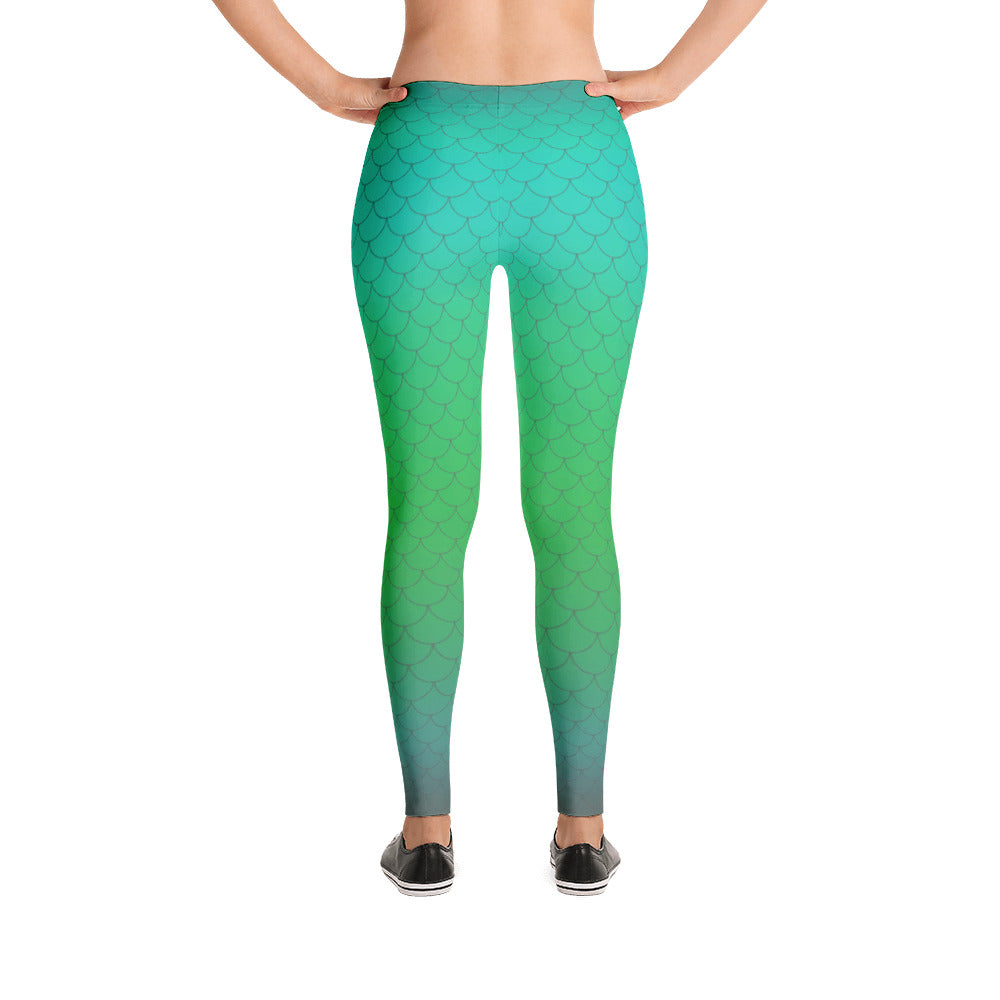 MERMAID LEGGINGS MINT