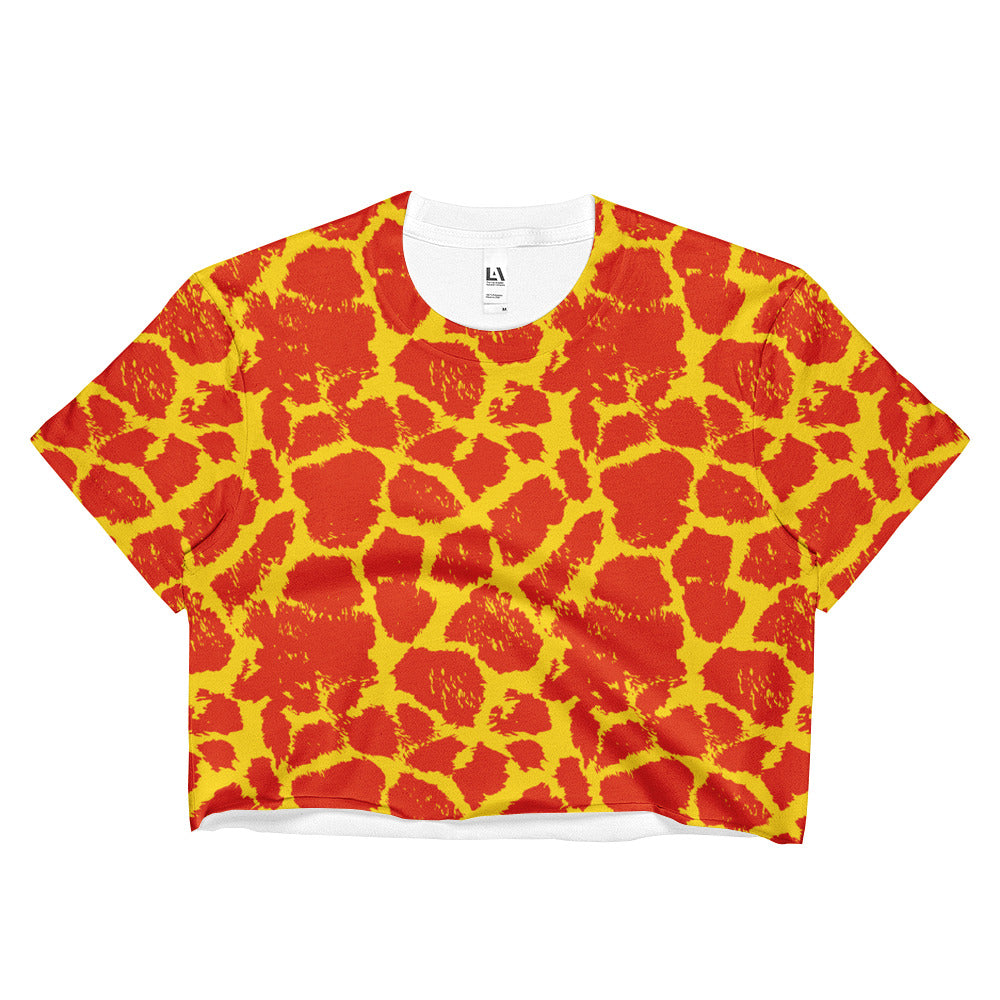 Dandelion Giraffe Crop Top