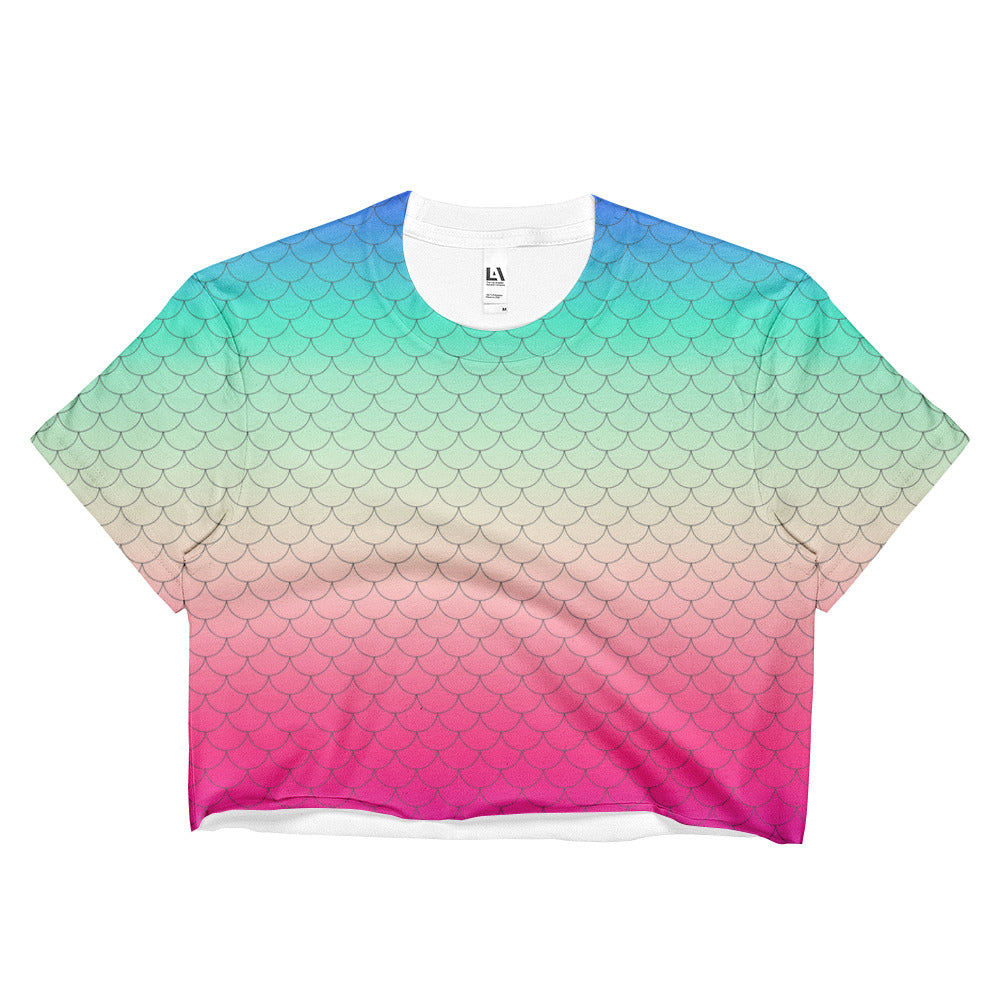 LIV Mermaid Crop Top